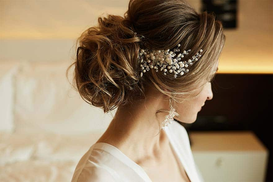 coiffure pour mariage chic